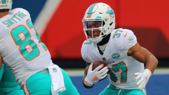 Myles Gaskin impressed with Dolphins offensive speed during offseason